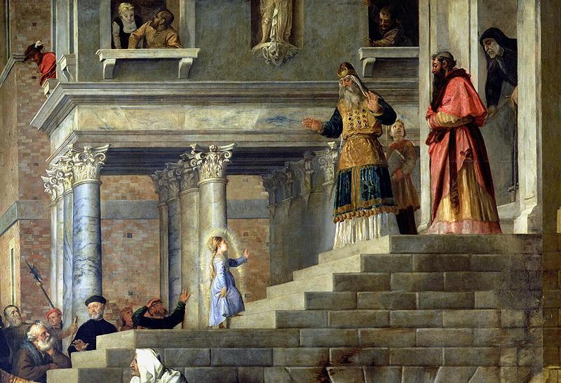 Введение во храм Пресвятой Богородицы (Тициан, 1534—1538)