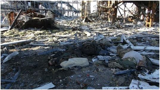 Донецкий аэропорт. Убитые киборги. Униатский «бог» подвел Мыколу