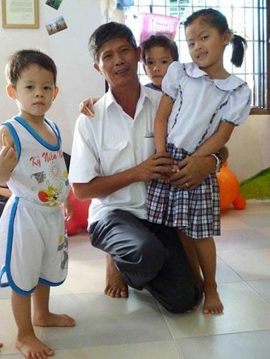 Тонг с воспитанниками