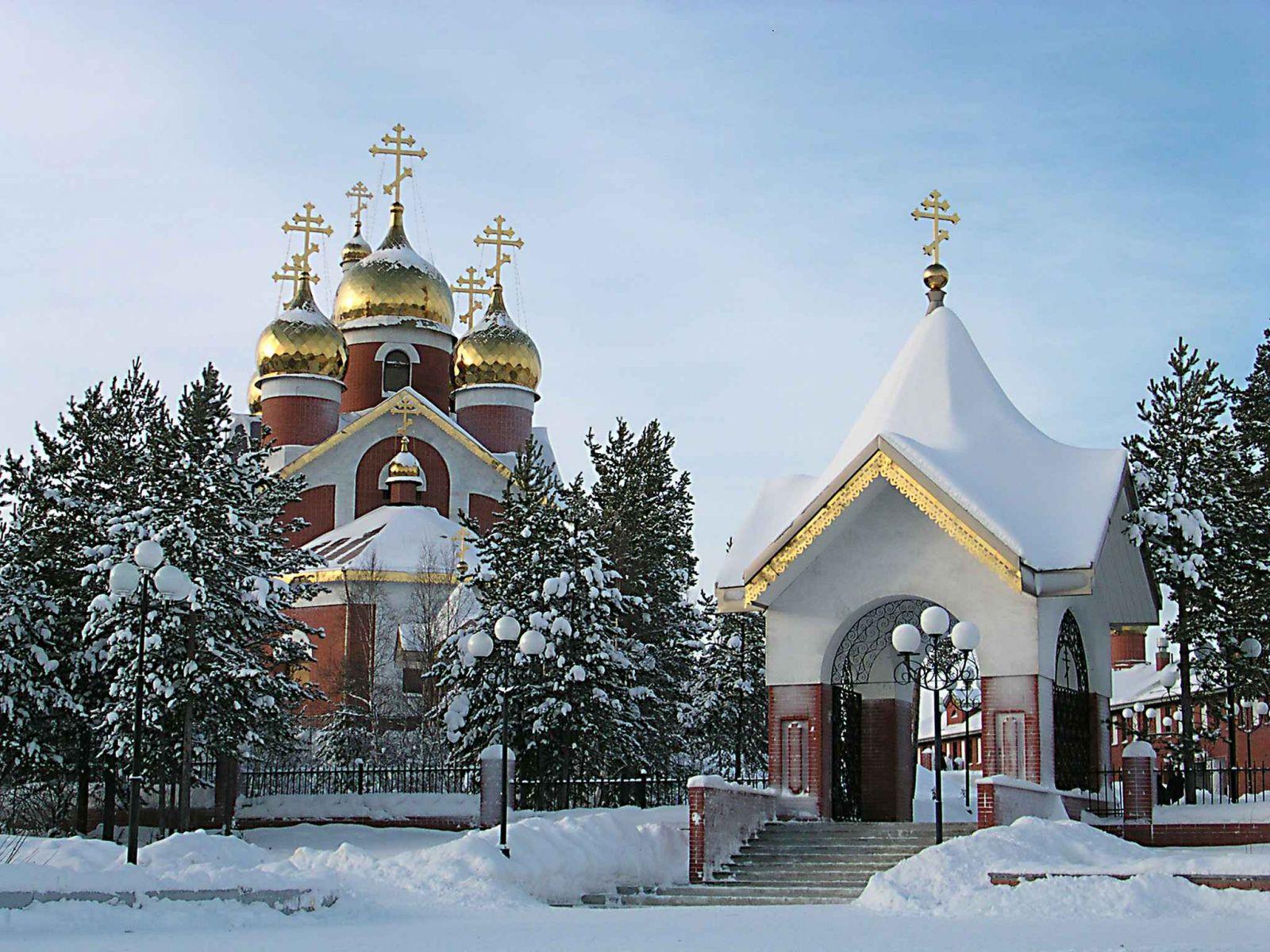 Картинки на рабочий стол православные храмы