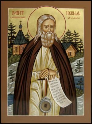Икона святого Германа Аляскинского