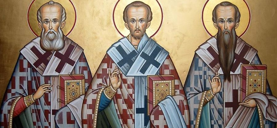 «Яко апостолов единонравнии ивселенныя учитилие…»,— отрёх святителях, ставших столпами Православия